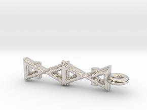 Alchemy Pendant in Platinum