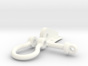 Seaking Lift Point Assembly  in White Processed Versatile Plastic