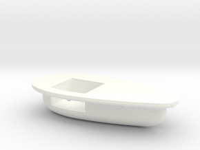 Seaking Teardrop Vent Starboard Side in White Strong & Flexible Polished
