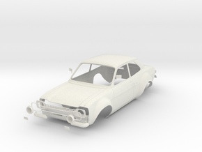 Ford Escort Mk1 scale 1/8 in White Strong & Flexible