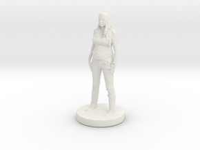 Printle C Femme 233 - 1/24 in White Natural Versatile Plastic