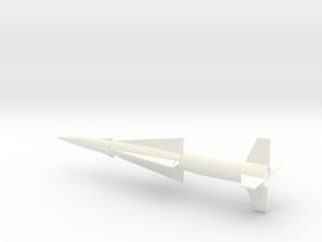 1/144 Scale Nike Ajax Missile in White Processed Versatile Plastic