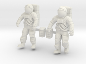 1: 48 Apollo Astronaut a7lb Type / Set ll in White Strong & Flexible