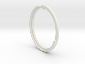 Argus Cintagon Adapter Focus Ring in White Natural Versatile Plastic