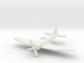 Mitsubishi A7M2 Reppu 6mm 1/285 in White Natural Versatile Plastic