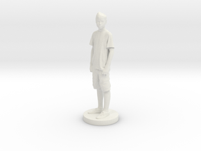 Printle C Kid 006 - 1/24 in White Natural Versatile Plastic