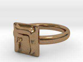 05 He Ring in Natural Brass: 7 / 54