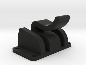Audi B7 A4 S4 Seat Back Replacement Clip 2005-2008 in Black Natural Versatile Plastic