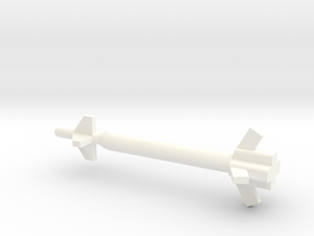 1/144 Scale GBU-28 and GBU-37 GPS Bunker Buster Bo in White Processed Versatile Plastic