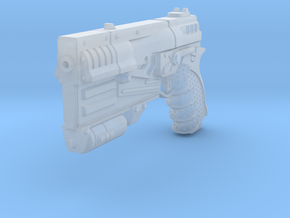 1/6 Sci-Fi Game Pistol  in Frosted Ultra Detail