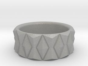 Diamond Ring V3 - Curved in Aluminum