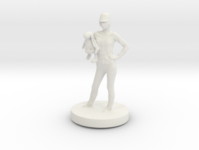 Printle C Femme 034 - 1/24 in White Strong & Flexible