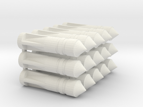 1/100 Bombe H-111 100 002 (rep) in White Natural Versatile Plastic
