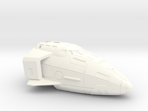 Combat Orbiter Nose Section MK.II One-Piece in White Strong & Flexible Polished