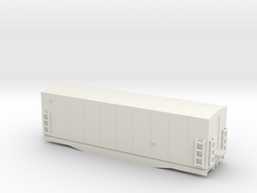 Southern Railway Radio Car - HOscale in White Natural Versatile Plastic