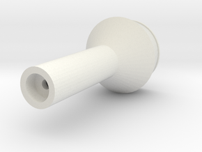 On30 Balloon Stack for Bachmann Forney 2-4-4T in White Natural Versatile Plastic