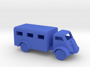 1/200 Scale Bedford QL VAN in Blue Strong & Flexible Polished