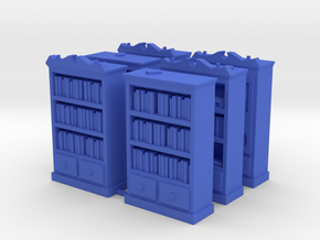 Mansions of Madness: Bookcase Barricades in Blue Strong & Flexible Polished