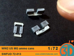 WW2 US MG Ammo Cans 1/72 scale SWFUD 72-013 in Frosted Ultra Detail