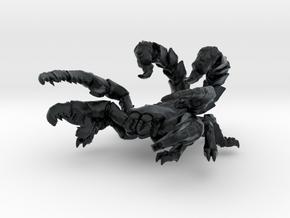 Skorpionfich 01 in Black Hi-Def Acrylate