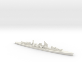 1/3000 IJN Projected Never Were AA Cruiser in White Natural Versatile Plastic