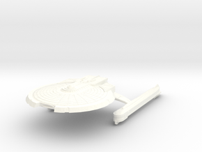 Uss Sagittarius in White Strong & Flexible Polished