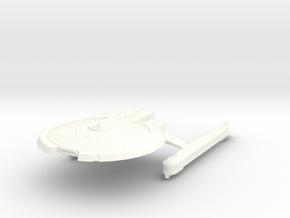 Uss Sagittarius in White Processed Versatile Plastic