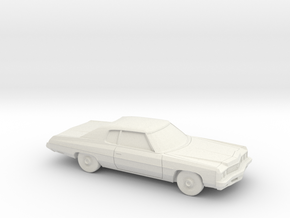 1/87 1973 Chevrolet Impala Custom Coupe in White Strong & Flexible