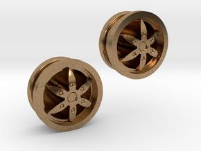 Designfelge Mit 1mm Bohrung in Raw Brass