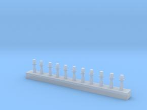 Rundumleuchte RKL10 DDR in 1/87 in Smooth Fine Detail Plastic