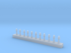 Rundumleuchte RKL10 DDR in 1/43 in Smooth Fine Detail Plastic