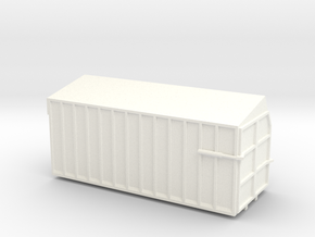 Danco Forage Box 20' in White Strong & Flexible Polished
