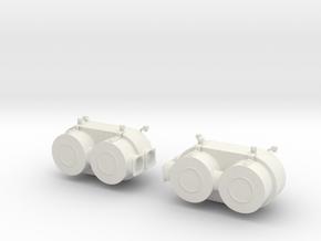 Feifel Mod.1 Completos Escala 1-16.3mf in White Strong & Flexible