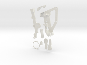 Apollo RCU OPS Actuator in White Natural Versatile Plastic