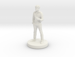 Printle C Homme 207 - 1/24 in White Natural Versatile Plastic