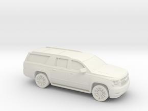 1/64 2015 Chevrolet Suburban in White Strong & Flexible