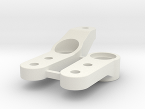 0002 - Astute D2+3, Steering Arms in White Natural Versatile Plastic