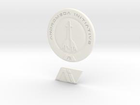 Mass Effect Andromeda Initiative in White Processed Versatile Plastic