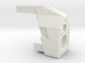 "MP7  ""Warthog"" frontend in White Natural Versatile Plastic"