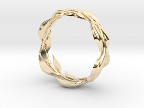 Vine Band, Size 9 in 14K Yellow Gold