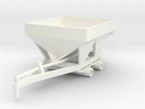 Fertilizer Spreader 5 Ton in White Strong & Flexible Polished