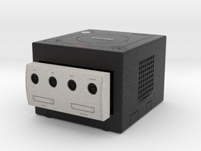 1:6 Nintendo Gamecube (Jet Black) in Full Color Sandstone