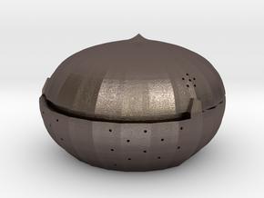 Siegbrau in Polished Bronzed Silver Steel