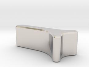 Leica M Camera Thumb Grip in Platinum