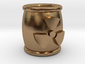 Power Grid Uranium Barrels - One Barrel in Natural Brass