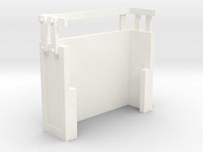 Bachmann Shay Wood Box in White Processed Versatile Plastic