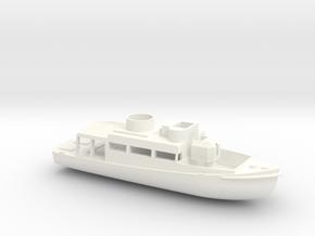 1/72 Scale Patrol Boat in White Processed Versatile Plastic