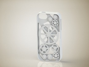 iPhone 5/5S Gear Case in White Natural Versatile Plastic