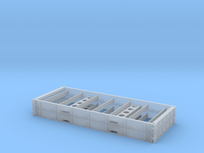1:87 2 X 20 Plattform Container Holzboden in Frosted Ultra Detail