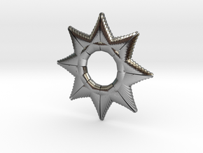 Star Of A Millon in Polished Silver